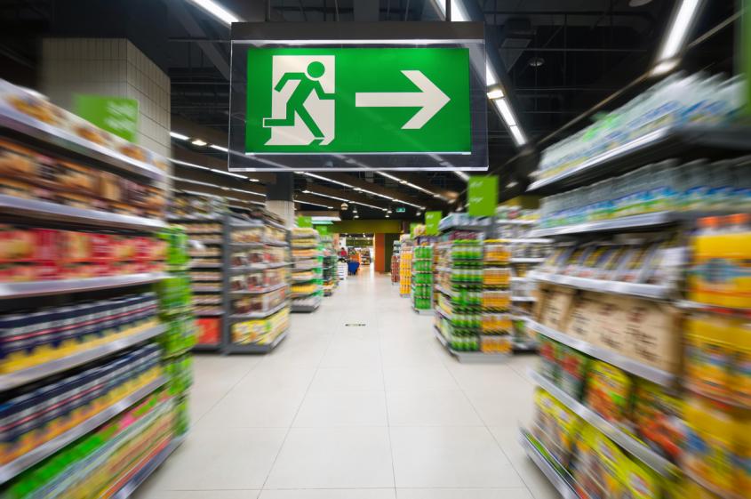 Sinalização de segurança para supermercados: guia completo!