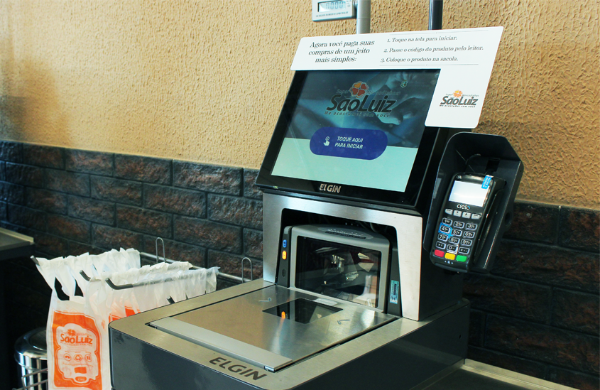 Self-Checkout: o supermercado do futuro já está na Casa Magalhães!