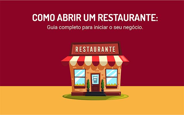 Banner do Ebook Como abrir um restaurante