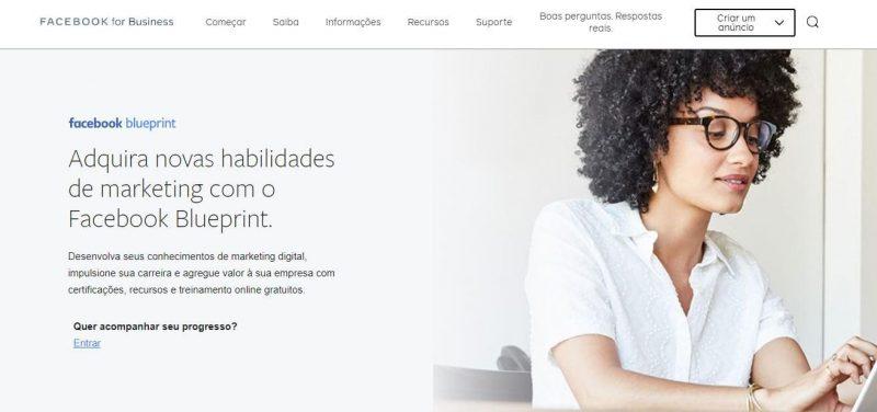 Texto: Redes sociais para supermercados - Blog Casa Magalhães - Curso: Facebook Blue Prints