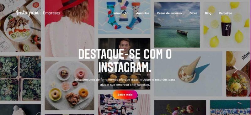 Texto: Redes sociais para supermercados - Blog Casa Magalhães - Curso Instagram