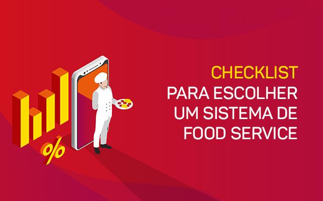 Checklist - sistema de food service