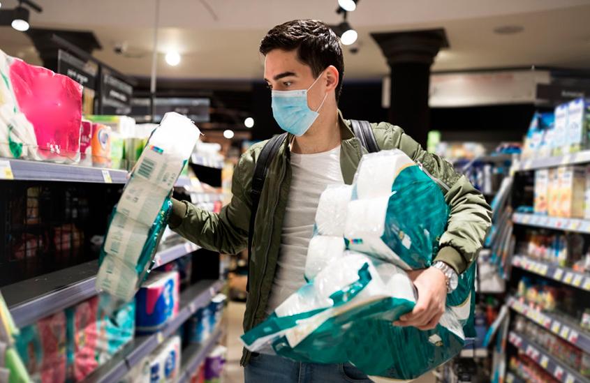 impacto do coronavírus nos supermercados brasileiros