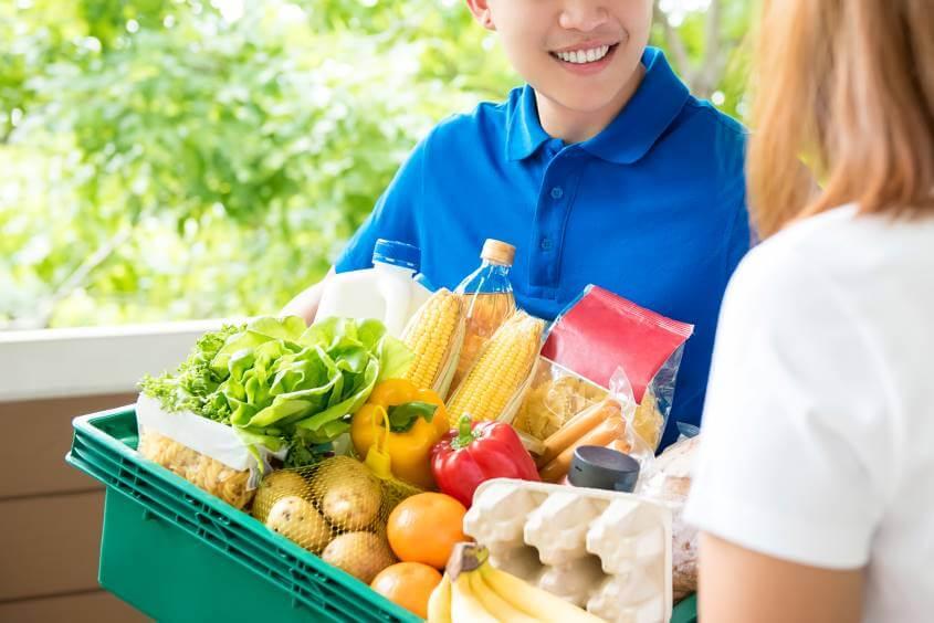 delivery no supermercado - blog casa magalhães